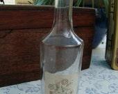 Vintage French Eau De Colonge Bottle with Original Pretty Label
