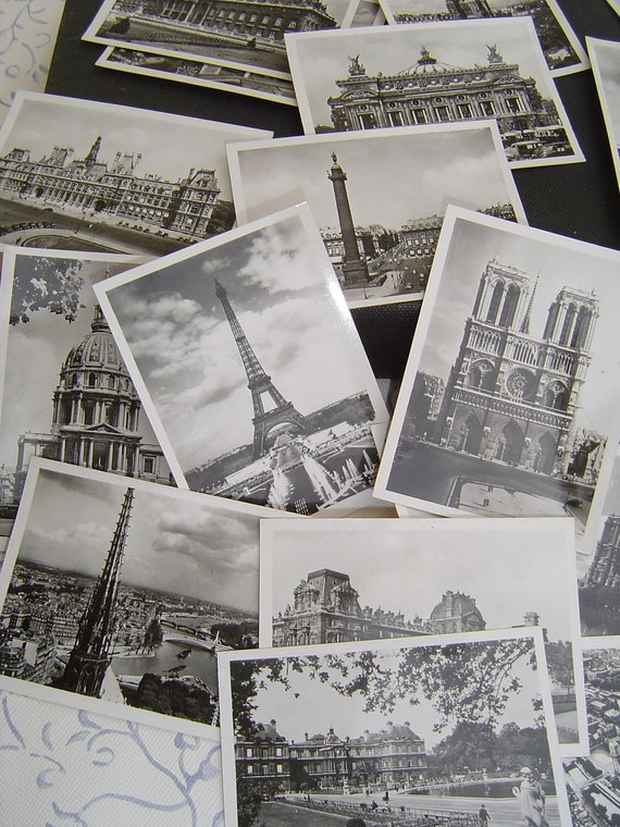 20 Fabulous French Vintage Parisian Photographs by Yvon