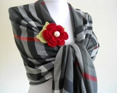 plaid ,pashmina, shawl,scarf, gift, valentine, mothers day, winter trends, fashion, 2012
