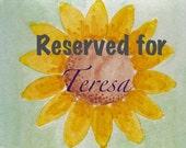 Reserved for Teresa