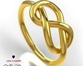 Infinity Ring 14K Gold