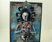 Halloween/Skeleton card
