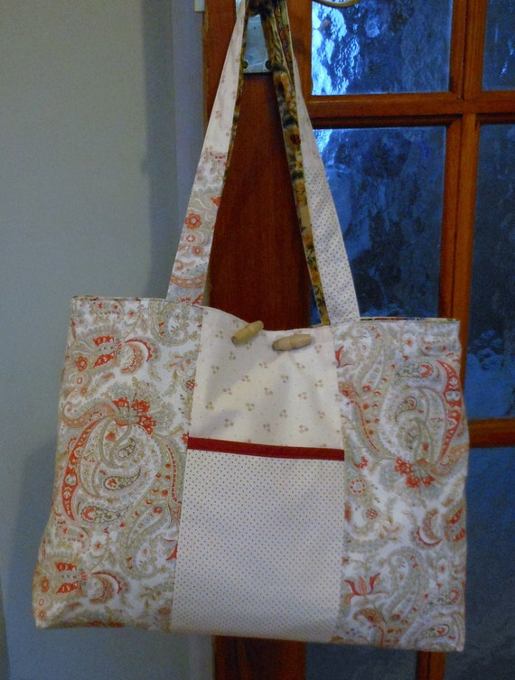 Lovely Reversible Cotton Bag