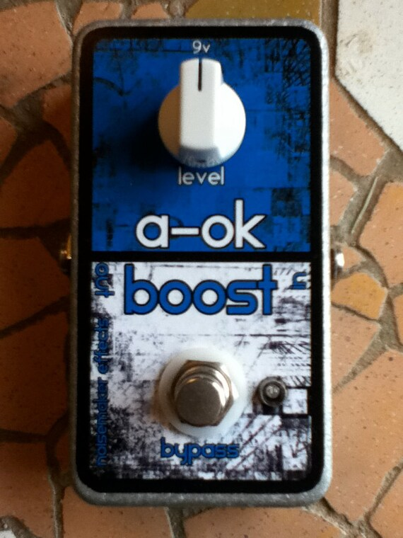 Noisemaker Effects A-OK Boost Line Booster Pedal