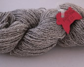 HEATHERED PEARL - Navajo Churro/Mohair blend yarn