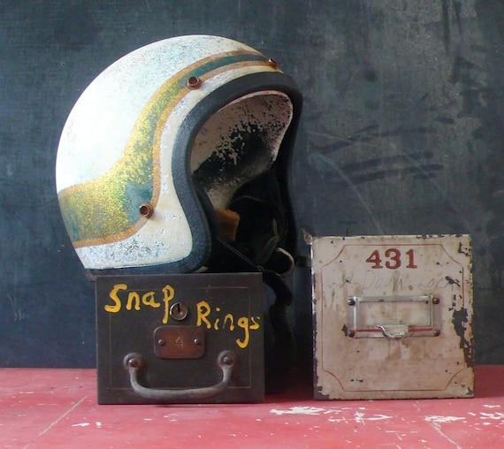 Late 60's early 70's motorcycle helmet