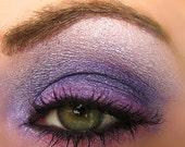 Purple Pink and White Eyeshadow Trio