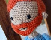 Conan O'Brien Coco Crochet Amigurumi Pattern