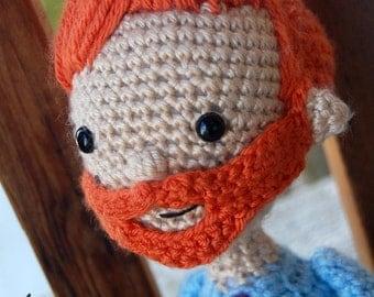 Conan O'Brien Coco Crochet doll Amigurumi Pattern