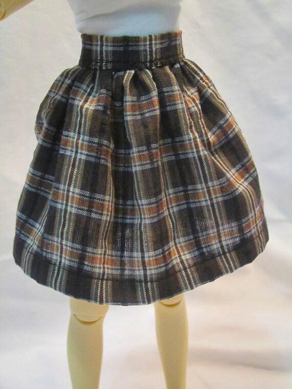 MNF Skirt - Brown Plaid
