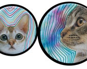 Two TripDaCat Pins