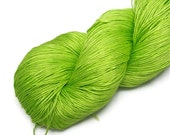 Lace Weight Silk Yarn Spun/ Maharaja Silk yarn, green