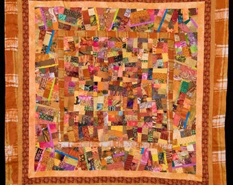 Fine Art Contemporary Quilt//FREE SHIPPING
