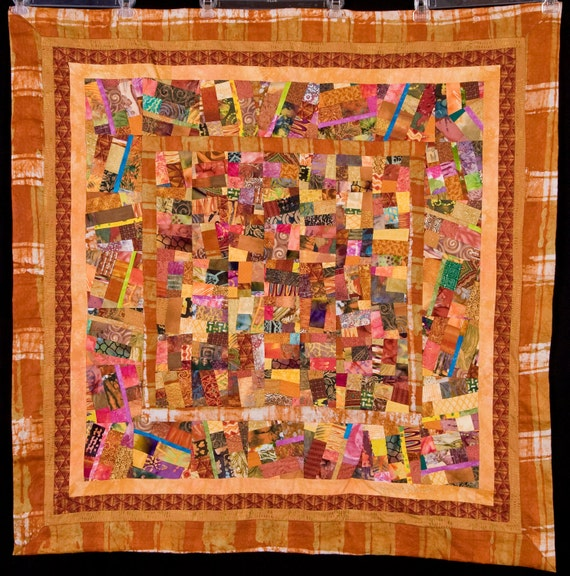 GOLD COAST: A Fine Art Contemporary Quilt