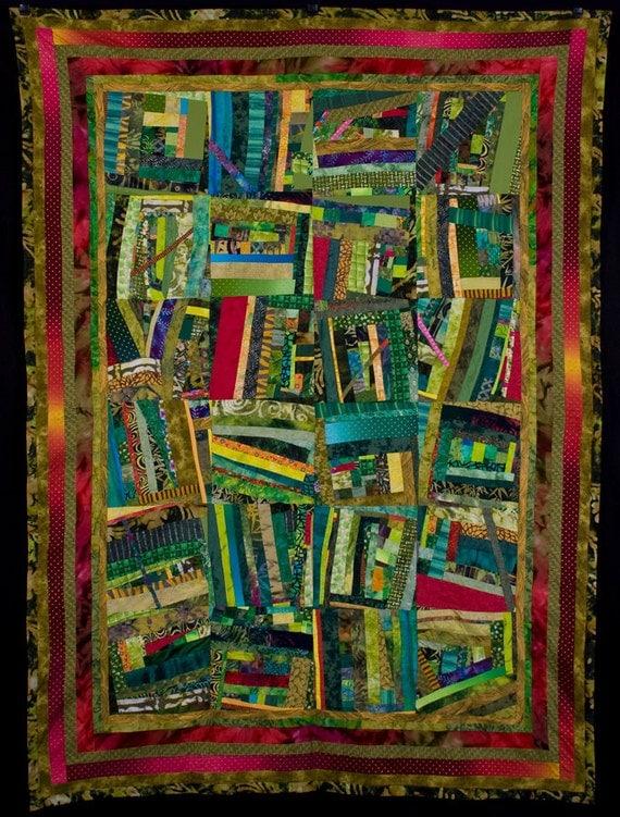 PICK-UP STICKS: An Art Quilt