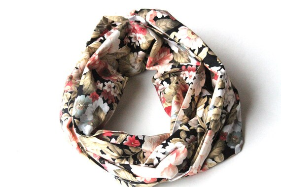 Reserved for constants - Floral Infinity Scarf