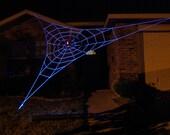 20 ft Almost GIANT GlowWeb - Halloween House Prop