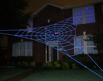30 ft BERMUDA GlowWeb - GIANT Halloween Spider Web Prop
