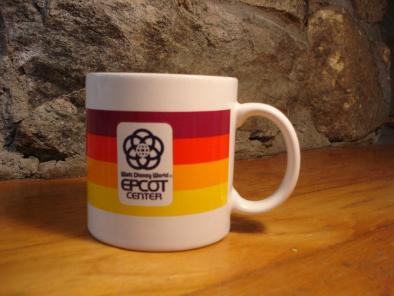 Vintage Walt Disney World: Epcot Center Mug/Cup