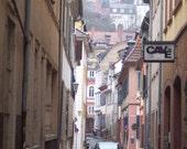 Side Street Heidelberg,Germany