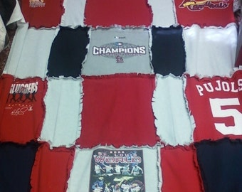 St. Louis Cardinals Blanket-Twin size-Made to order