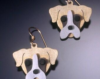Boxer Jewelry - Boxer Earrings - by Anita Edwards