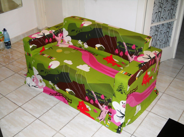 Custom Made Cover For Klobo Sofa From Ikea Nice Green