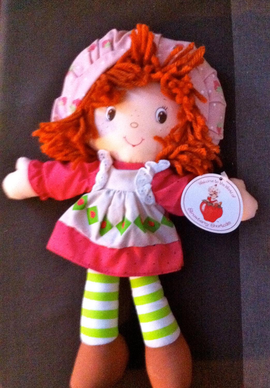 Strawberry Shortcake Doll Rag Doll Little Debbie By