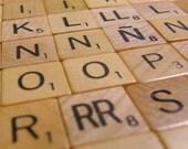 Spanish Scrabble Magnets - includes Ñ LL RR Rare 103 piece set