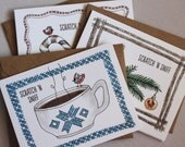 Scratch 'n Sniff Holiday Cards : Multipack of 12