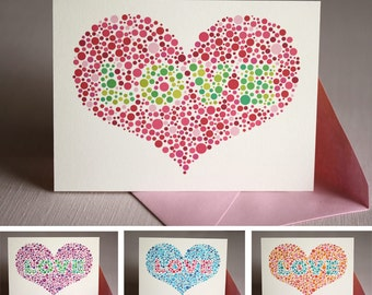 Love is Blind : Valentine Card
