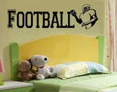 wall decal kids varsity football decal kids decor nursery decal sport decal boy decal home decor decal for men wall decal living room
