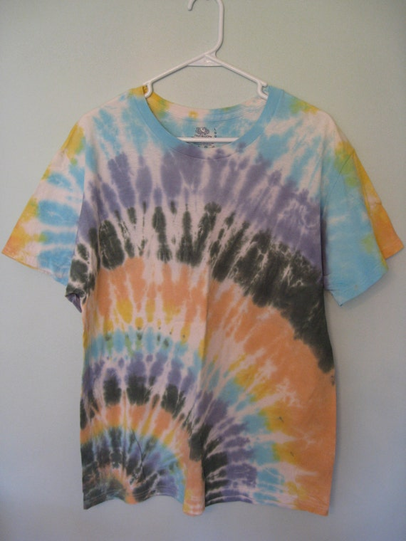 Tie Dye Adult Large Short Sleeve T-Shirt
