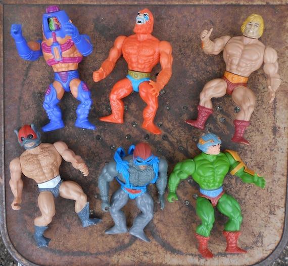 Heman Action Figure: He-Man Action Figures Set Of Six Masters Of Universe Heman