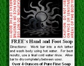 Free's Hand and Foot Soap