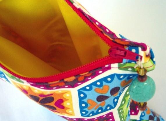 ORGANIC Wet/Dry STINKY bag, multicolor print