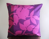 Marimekko Berry, Pink, and Purple Madison WI Pillow Cover - 18x18 in