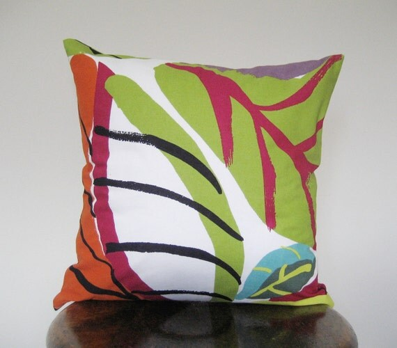 Marimekko Tropical Flower Pillow Cover - 16x16 in