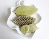 Leaf soap 4 pc set, all time guests favorite