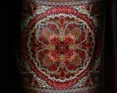 Large Indian Ornate Paisley Scarf