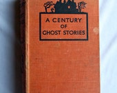 Century of Ghost Stories - Vintage 1936 Book - Home Decor - Scary Story Halloween
