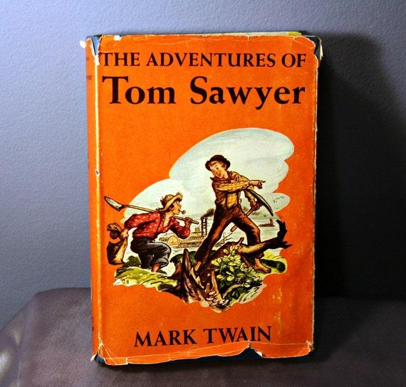 Vintage Tom Sawyer - Mark Twain - 1922