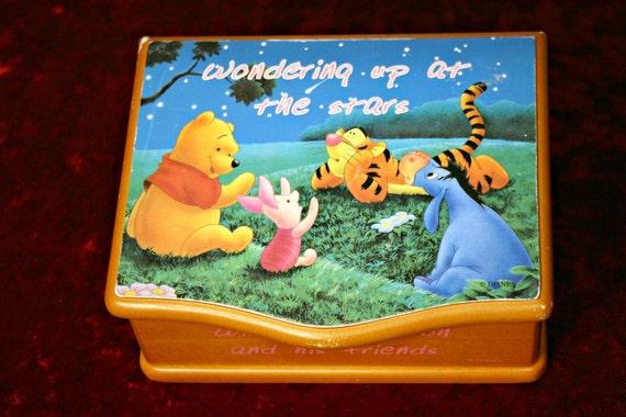Sweet Winnie the Pooh Music Box - Jewelry Box - Disney