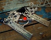 Inspired Gale & Katniss Best Friends Necklaces
