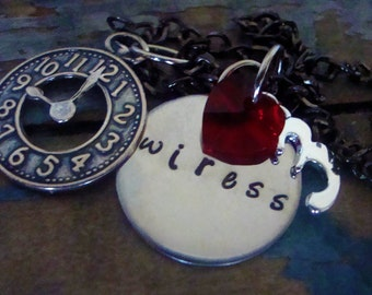 Inspired Wiress Necklace