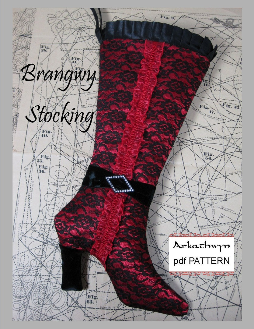 This is a photo of Vibrant Printable Stocking Patterns