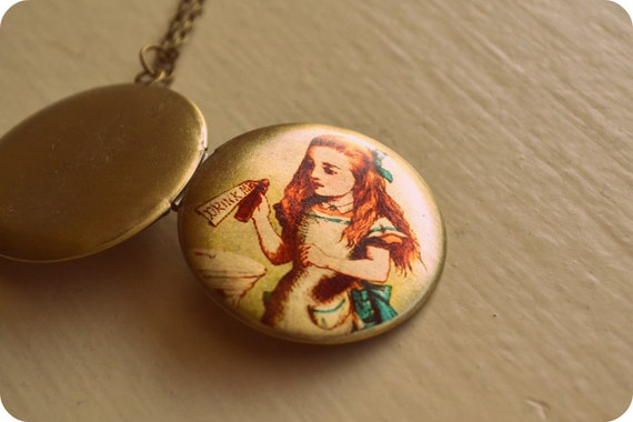Alice in Wonderland Locket