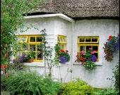 Ireland Photography,Ireland, Irish, Irish Cottage, Country Cottage
