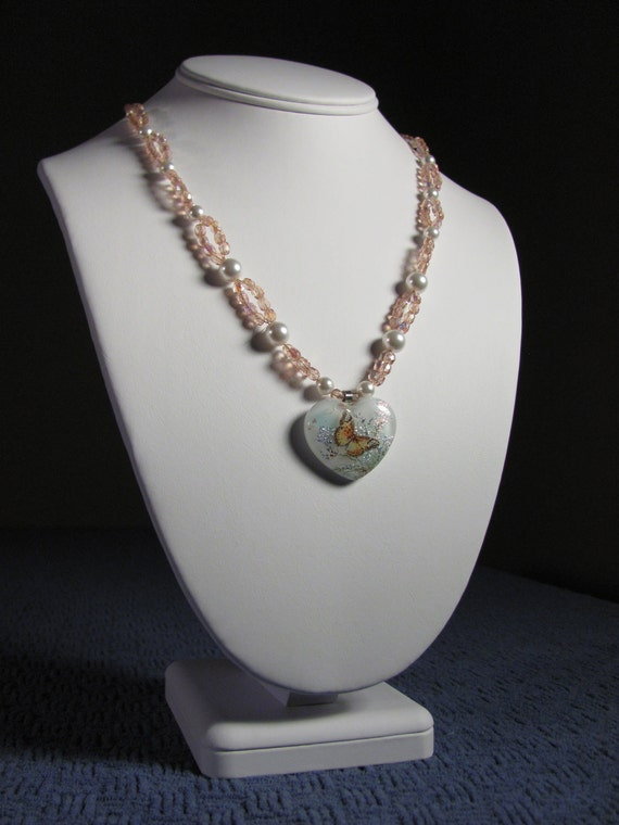 Lacewing Butterfly Necklace