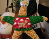 Starfish Ornament: Going to and Ugly Christmas Sweater Party